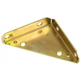 Триизмерна ъглова метална планка DMX NS - 100 x 100 x 28 мм