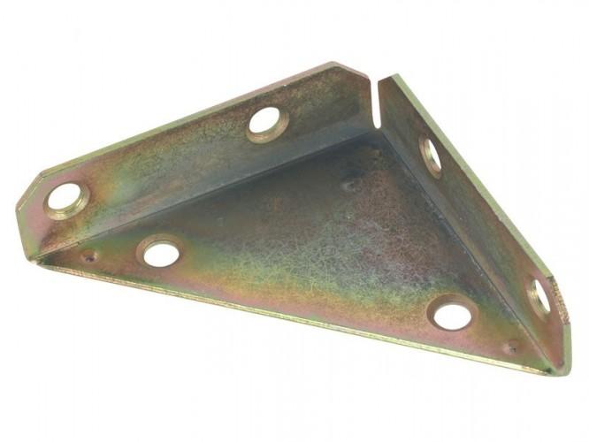 Триизмерна ъглова метална планка NS - 75 x 75 x 20 мм