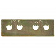 Усилена плоска метална планка DMX LW 1 - 48 х 17 мм
