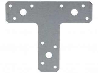 Т-образна плоска метална планка KT 2 - 150 х 127 х 38 мм