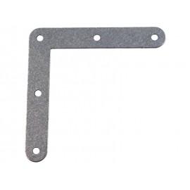 Плоска метална ъглова планка - 100 x 100 мм