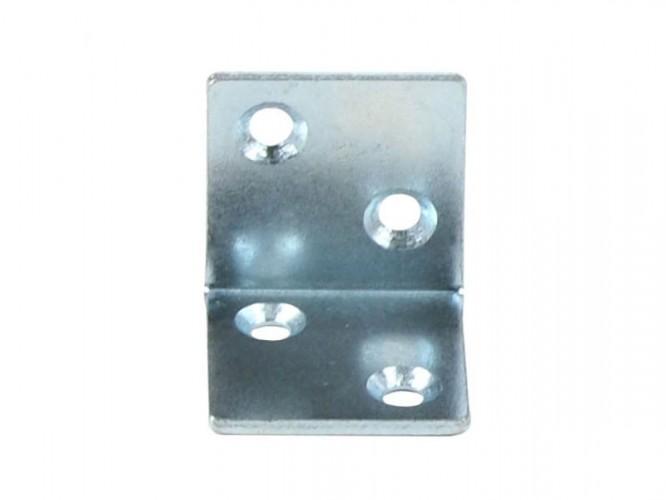 Широка ъглова метална планка за укрепване - 25 х 25 x 25 мм