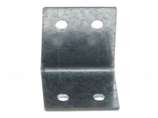 Широка ъглова метална планка за укрепване - 30 х 30 мм
