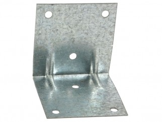 Широка метална ъглова планка за укрепване - 70 х 70 мм