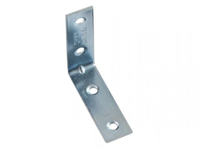 Метална ъглова планка за укрепване SC04Z - 50 х 50 х 15 мм