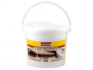 Водоустойчиво лепило за дърво Soudal 65A D3 - 5 кг