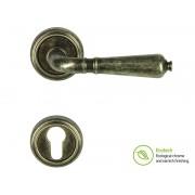 Дръжки за врати Forme Vintage Antik - Секретен патрон, Антично сребро