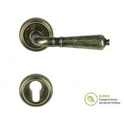 Дръжки за интериорни врати Forme Vintage Antik - Антично сребро, За секретен патрон