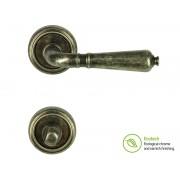 Дръжки за интериорни врати Forme Vintage Antik - WC, Антично сребро