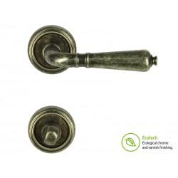 Дръжки за врати Forme Vintage Antik - WC, Антично сребро