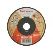 Тънък диск за рязане на стомана Fischer Profi - 125 x 1.0 x 22.23 мм
