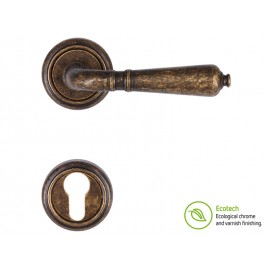 Дръжки за интериорни врати Forme Vintage Antik - Античен бронз, За Секретен патрон