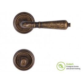 Forme Vintage Antik Interior Door Handles - WC, Antique Bronze