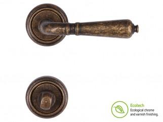 Дръжки за интериорни врати Forme Vintage Antik - За WC, Античен бронз