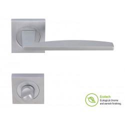 Дръжки за интериорни врати Forme Fashion Modena - Сатен Хром, За WC