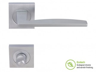 Forme Fashion Modena Interior Door Handles - Satin Chrome, For WC