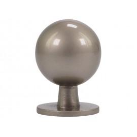 Дръжка за мебели KAMA 8125S - ф19 мм, С един винт, Никел мат