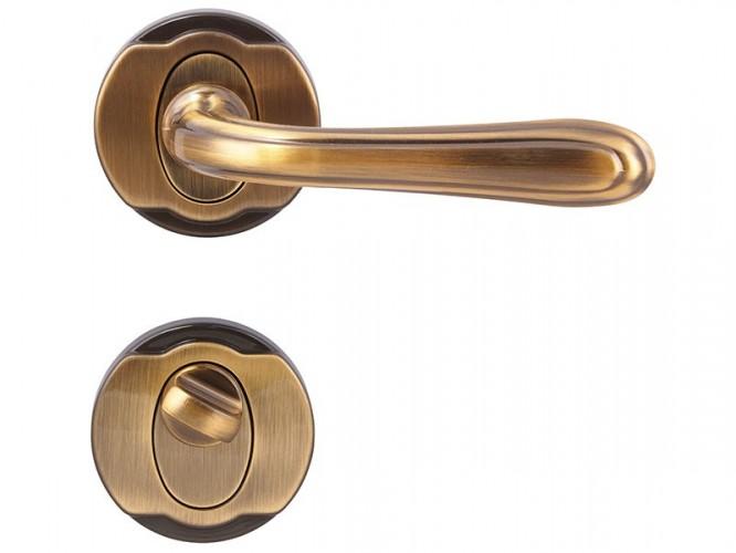 Дръжкa за интериорни врати Цетус - За WC