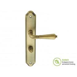 Дръжки с шилд за интериорни врати Forme Vintage Antik - Античен бронз, За WC