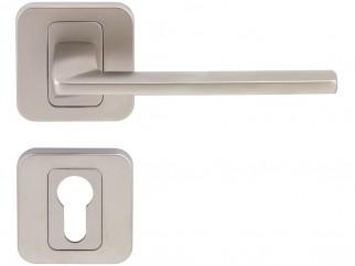 Pem Interior Door Handles - Matte Nickel, For Cylinder