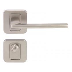 Дръжка за интериорни врати Пем - Никел мат, За WC