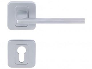 Дръжка за интериорни врати Пем - Хром мат, За секретен патрон