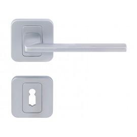 Дръжка за интериорни врати Пем - Хром мат, За обикновен ключ