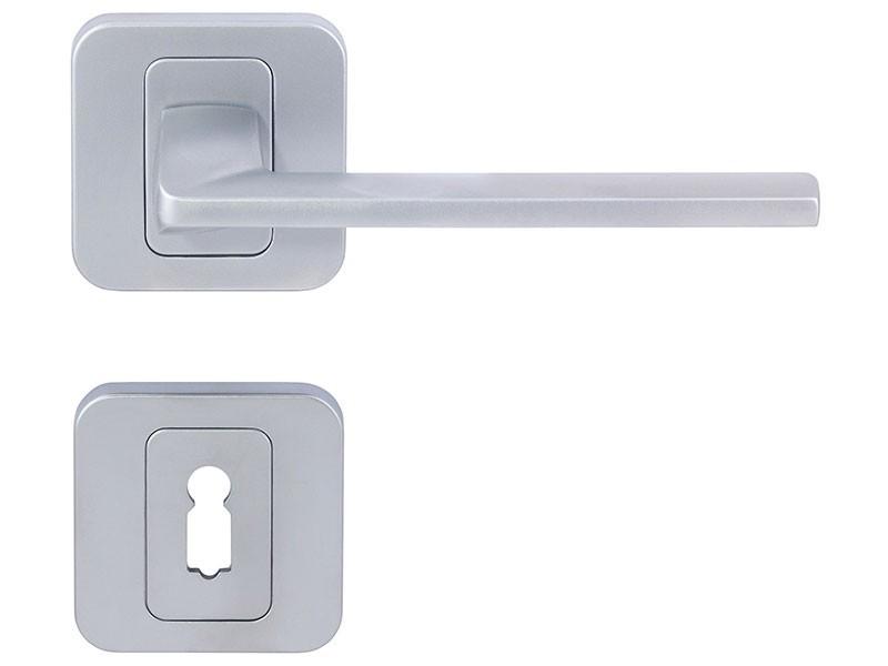 Pem interior door handles for cylinder matt chrome - Standard interior door replacement key ...