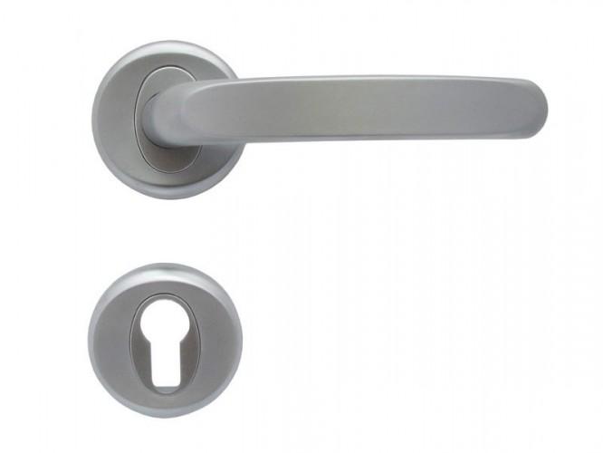 Дръжки за интериорни врати Регулус - Хром мат, За секретен патрон