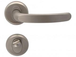 Дръжки за интериорни врати Регулус - Никел мат, За WC