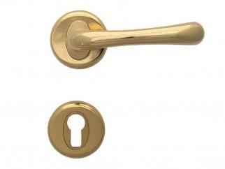 Дръжка за врати Драко - за секретен патрон, злато