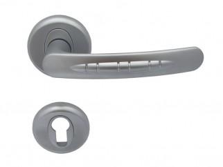 Дръжка за врати Кобра - за секретен патрон, хром мат