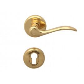 Дръжки за интериорни врати Барон - Секретен патрон, Злато