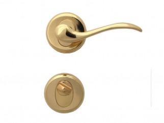Дръжка за врати Барон - WC, злато