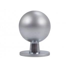 Дръжка за мебели KAMA 8125S - ф19 мм, С един винт, Хром мат