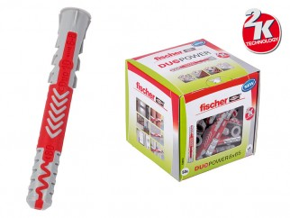 Fischer DUOPOWER Universal Plugs - 10 x 80 mm