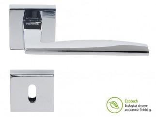 Дръжки за интериорни врати Forme Fashion Modena - Обикновен ключ, Полиран хром