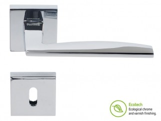 Forme Fashion Modena Interior Door Handles - Standard Key, Polished Chrome