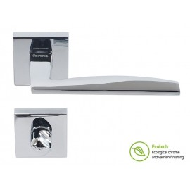 Forme Fashion Modena Interior Door Handles - WC, Polished Chrome