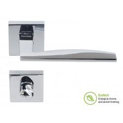 Дръжки за интериорни врати Forme Fashion Modena - WC, Полиран хром