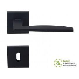 Дръжки за врати Forme Fashion Modena - Обикновен ключ, Черен мат