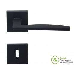 Дръжки за интериорни врати Forme Fashion Modena - Обикновен ключ, Черен мат