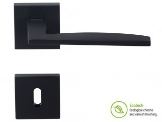Forme Fashion Modena Interior Door Handles - Standard Key, Matte Black