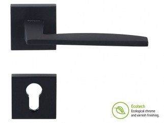 Forme Fashion Modena Interior Door Handles - For Cylinder, Matte Black