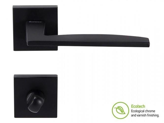 Дръжки за интериорни врати Forme Fashion Modena - WC, Черен мат