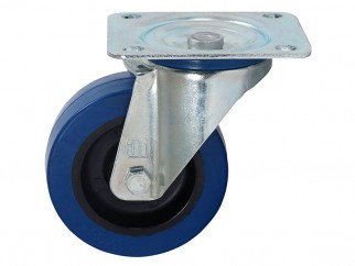 372151 Ball-bearing Swivel Castor With Plate - 100 mm