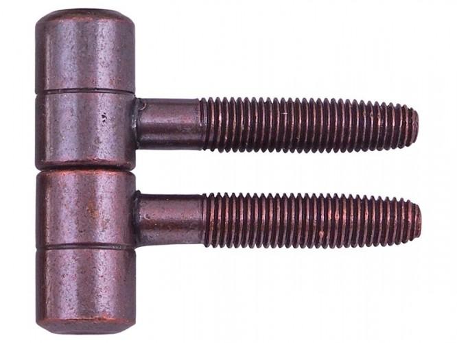 Винтова панта за интериорни врати - ф16 мм, Бронз