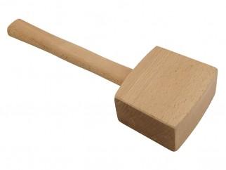Дървен чук с трапецовидна глава
