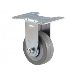 KAMA BQ07-F Ball-bearing Castor With Plate - ∅50 mm