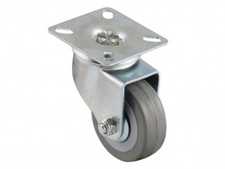 BQ07-S Ball-bearing Castor With Plate